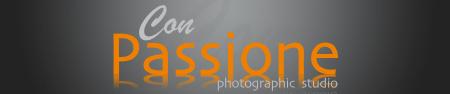 Con Passione photographic studio logo
